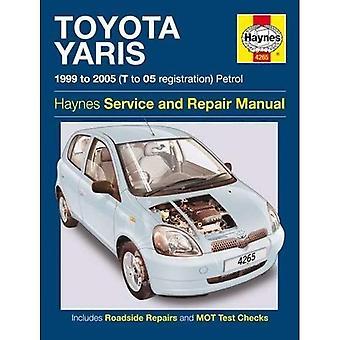 Toyota Yaris Owners Workshop Manual