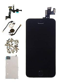 Stuff Certified ® iPhone 5S Pre-assembled Screen (Touchscreen + LCD + Parts) AA + Quality - Black + Tools