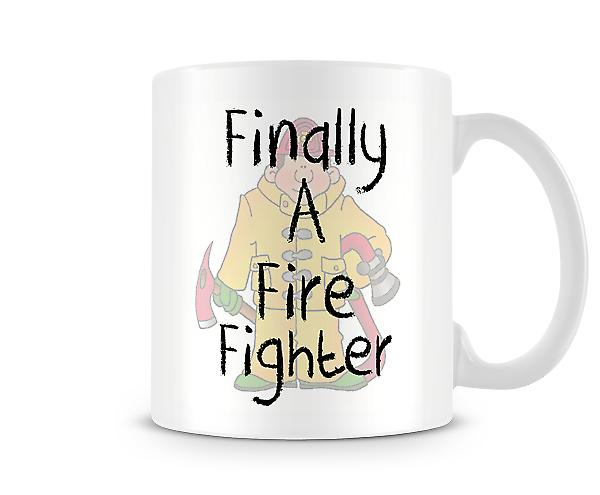 Finally A Fire Fighter Mug