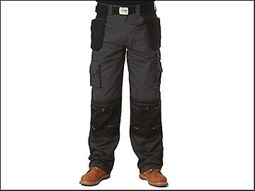 Apache Black & Grey Holster Trousers Waist 36in Leg 29in