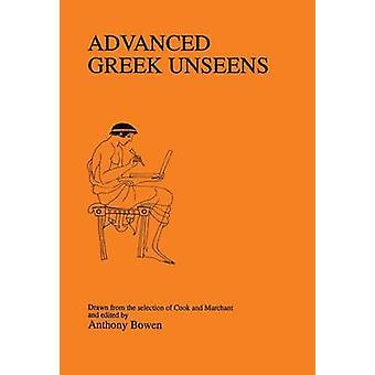 Moderne griechische Unseens von Bowen & Anthony