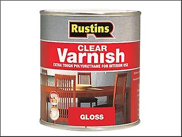 Rustins Polyurethane Varnish Gloss Clear 1 Litre