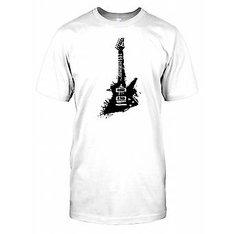 Guitare électrique Pop Art Design T-shirt