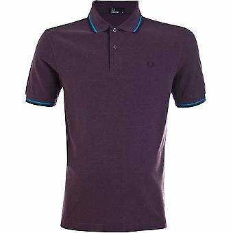 Fred Perry Mens Twin Tipped Short Sleeved Polo Shirt M3600-749