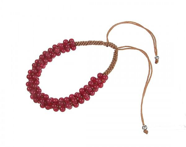 Cavendish French Red Quartz Friendship Bracelet