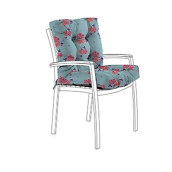 Gardenista® Water Resistant Ditsy Print Tufted Two Part Chair Cushion