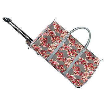 Orchid travel pull holdall by signare tapestry / pull-orc