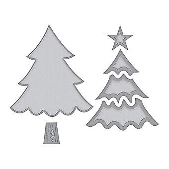 Spellbinders Christmas Tree Dies (S3-361)
