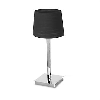 Table Lamp Torino 1 X E27 Max.60w  Chrome