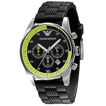 Emporio Armani Men's Black Sports Watch Ar5865