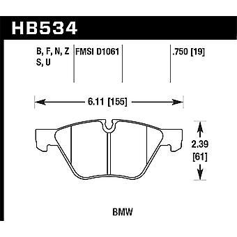 Hawk Performance HB534F.750 HPS