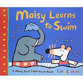 Maisy lär sig simma