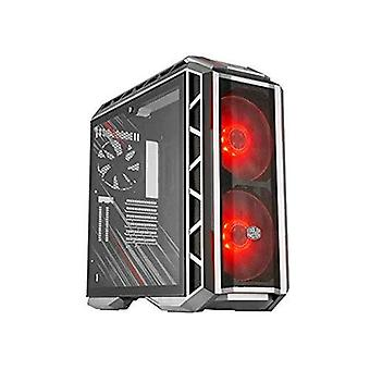Cooler master h500p case gaming middle tower with tempered glass window rgb phantom minitx/matx/atx/e-atx color