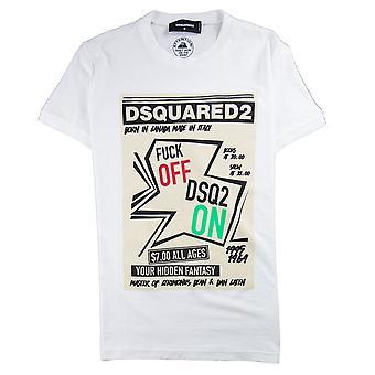 Dsquared2 Your Hidden Fantasy T-Shirt White