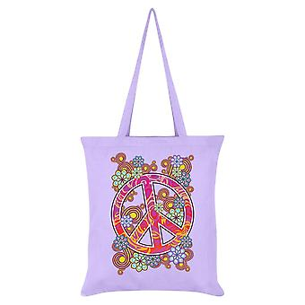 Grindstore Psychedelic Peace Tote Bag