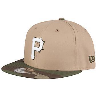 Uusi aika kausi 9Fifty SnapBack Cap-Pittsburgh Pirates Camel Camo