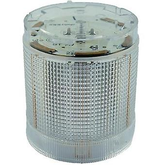 Signal tower component LED ComPro CO ST 70 White Non-stop light signal, Flash, Emergency light 24 Vdc, 24 Vac 75 dB