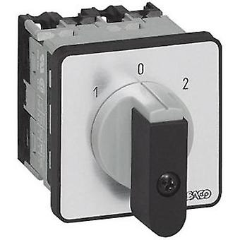 Changeover switch 16 A 2 x 30 ° Grey, Black BACO NC02GQ1 1 pc(s)