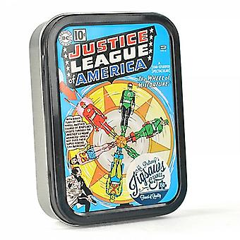 Justice League America 150 piece jigsaw puzzle in a tin (hb)