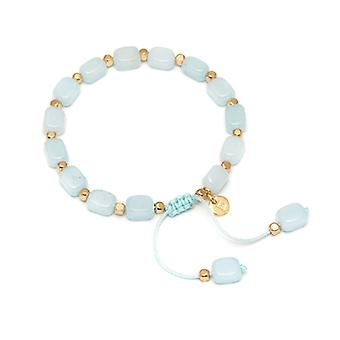 Lola Rose Starla Bracelet Ice Blue Quartzite  Gold