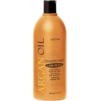 Kativa Argan Oil Conditioner 500ml. (Woman , Hair Care , Conditioners and masks)