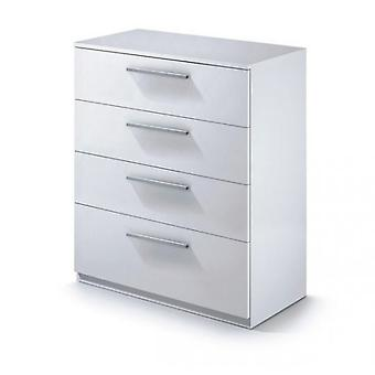 Bricohabitat Comfortable Ward.E 77x89x38 cm 4C White gloss