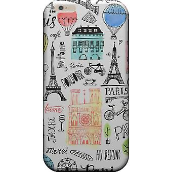 Cover paris monuments for iPhone 7