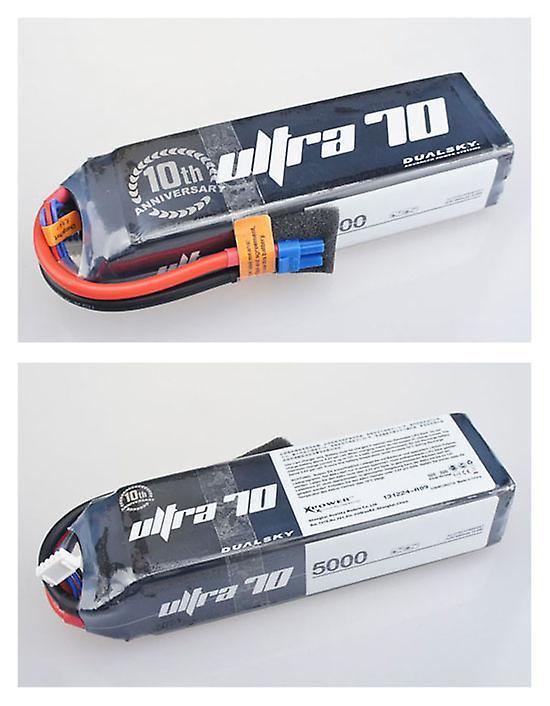 4400 mAh 70C 5s1p 18,5 v, 12 C charge
