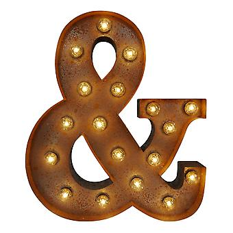 Large Vintage Letter Lights - & Sign