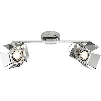 Ceiling floodlight LED GU10 10 W Brilliant Movie G08913/15 Chrome