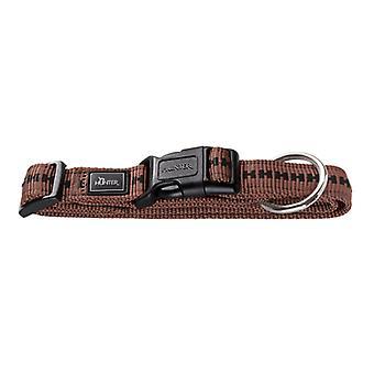 Collare in Nylon Hunter Power Grip Vario Basic marrone 15 mm X 30-45 cm