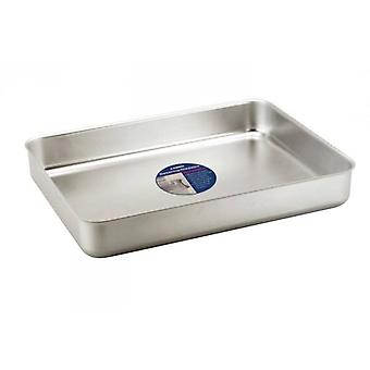 5.6 Litre Aluminium Baking Pan Tray Roasting Meat, Poultry Or Bakery
