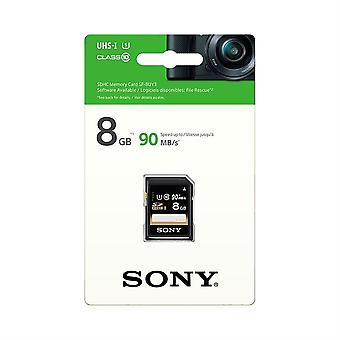 Sony 8GB SDHC Memory Card PERFORMANCE Series Class 10 UHS-1 [U1] (Read 70MB/s)