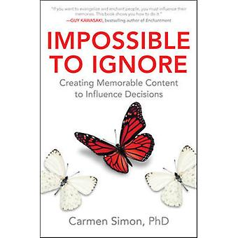 Impossible To Ignore by Simon Carmen