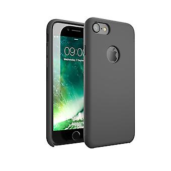 i-Blason-iPhone 7 Case, Silicone [Flexible] Case-Shock Absorbing-Gray