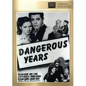 Dangerous Years [DVD] USA import