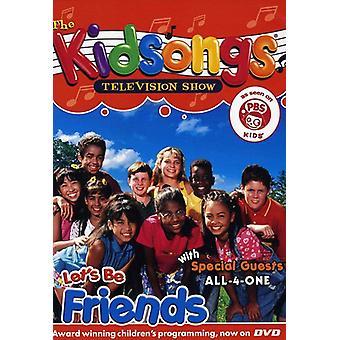 Kidsongs - Lad os være venner [DVD] USA import
