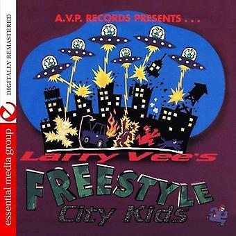 Avp Records Presents Larry Vee's Freestyle City Ki - Avp Records Presents Larry Vee's Freestyle City Ki [CD] USA import