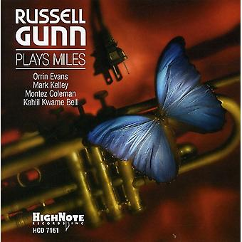 Russell Gunn - Russell Gunn spiller Miles [CD] USA import