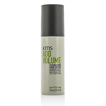 KMS California tilføje volumen tekstur Creme (Plumping og tykkelse) 75ml/2.5 oz
