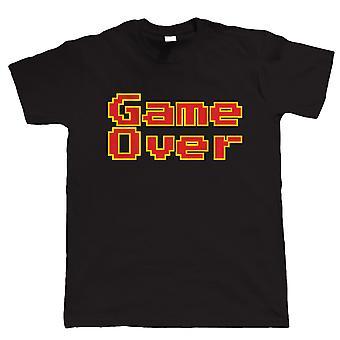 Game Over, lustigen retro-Videospiel-Tshirt