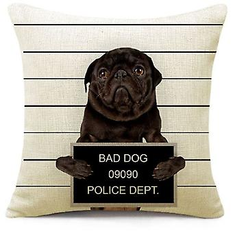 Superstudio Cushion Cover Bad Dog 45X45- (Casa , Tessili , Cuscini)