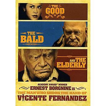Mand der rystede hånd af Vicente Fernandez [DVD] USA importerer