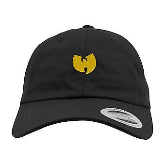 Wu-wear logo Dad Cap Black