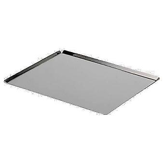De Buyer Plate 1 Mm Round Edges, Stainless Steel (Kitchen , Household , Oven)