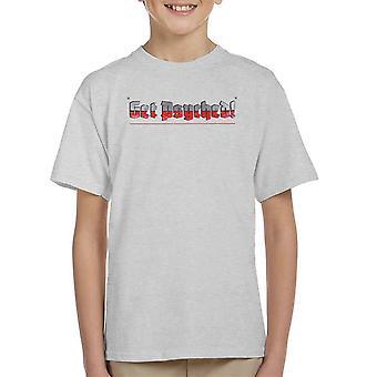 Få Psyched Wolfenstein børne T-Shirt
