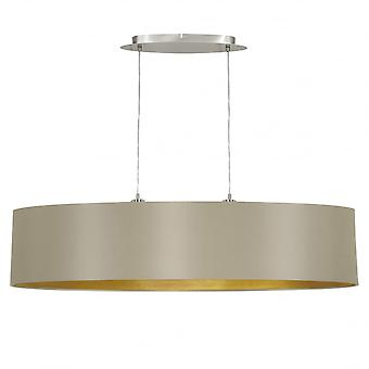 Eglo MASERLO Gloss Drum Ceiling Pendant