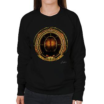 Die Royal Albert Hall Ariel Ansicht Frauen Sweatshirt