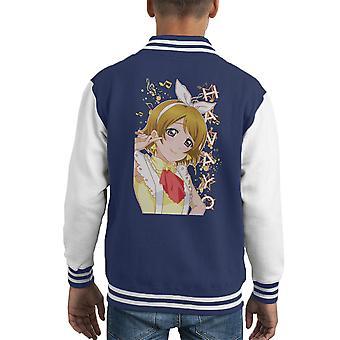 Hanayo Koizumi Kayo Love Live School Idol Project Kid's Varsity Jacket