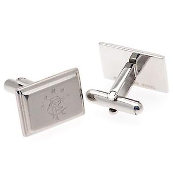 Rangers Stainless Steel Cufflinks